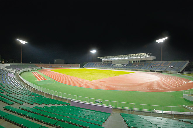 Kasamatsu Sports Park Athletics Stadium  e1871a75b8